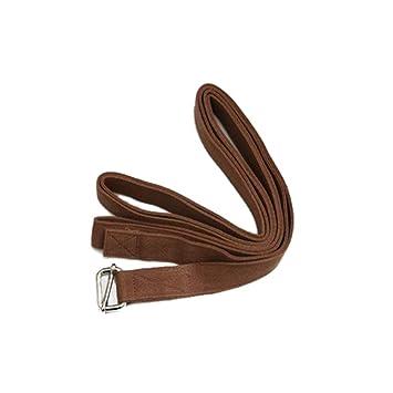 JESSIEKERVIN YY3 Cinturón de Estiramiento de Yoga Cuerda de ...