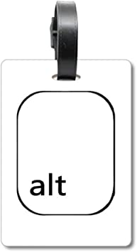Etiqueta de identificación para Maleta con símbolo de Teclado ...