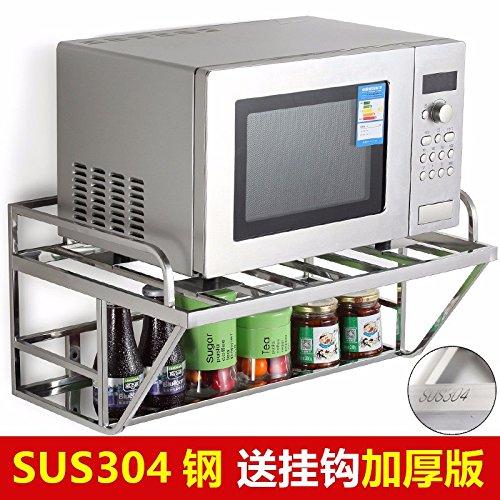 lzzfw Acero inoxidable 304 estanterías estanterías de Cocina ...