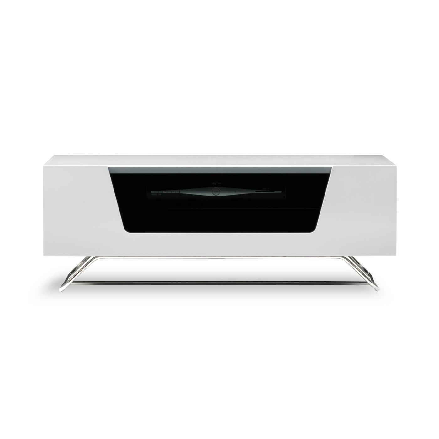 Alphason Chromium 2 1000 White - TV Cabinet Fits Up to: Amazon.co ...
