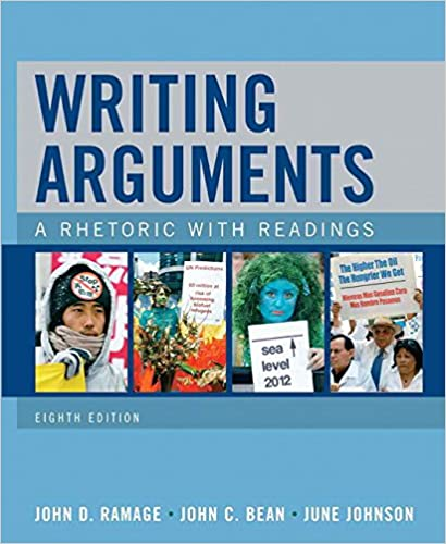 Amazon writing arguments a rhetoric with readings 8th edition amazon writing arguments a rhetoric with readings 8th edition 9780205648368 john d ramage john c bean june johnson books fandeluxe Images