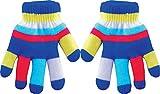 insulated kids gloves - True Gear Children's Insulated Gloves, Blue, One Size