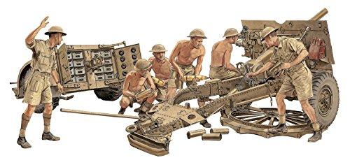 Dragon Models 1/35 British 25-Pdr. Field Gun Mk.II with Limber and Crew - Smart Kit
