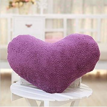 Amazon.com: Huayang – 1/5 colores suave dulce amor forma de ...