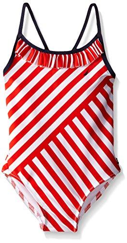 Nautica Little Multi Directional One Piece Swimsuit