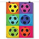 Inspired Posters Pop Art - Soccer Poster Size 18x24