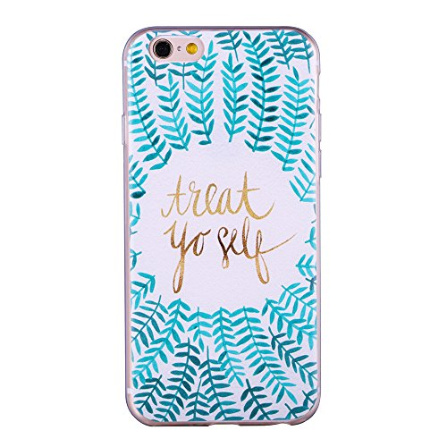 Ultra Link Slim - For iPhone 6/iPhone 6s Case, ZQ-Link® Ultra Slim Soft TPU Case Skin Cover Protective Bumper Case for Apple iPhone 6 / iPhone 6s 4.7 inch Inspirational Quotes Design