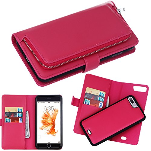 iphone7plus-case-drunkqueen-premium-slim-wallet-zipper-clutch-leather-credit-card-holder-feature-pur