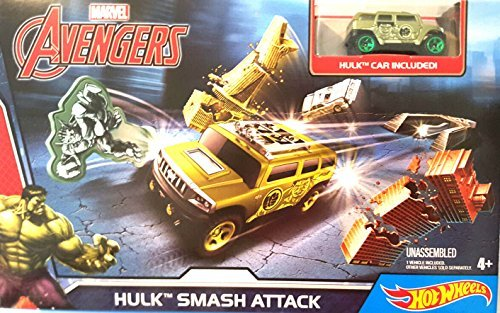 Hot Wheels Marvel Avengers Hulk Smash Attack (Hulk Attack Vehicle)