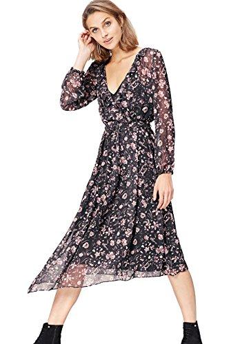 Cœur Femme Cache Noirblack Find Mix Robe b6fvIYg7my