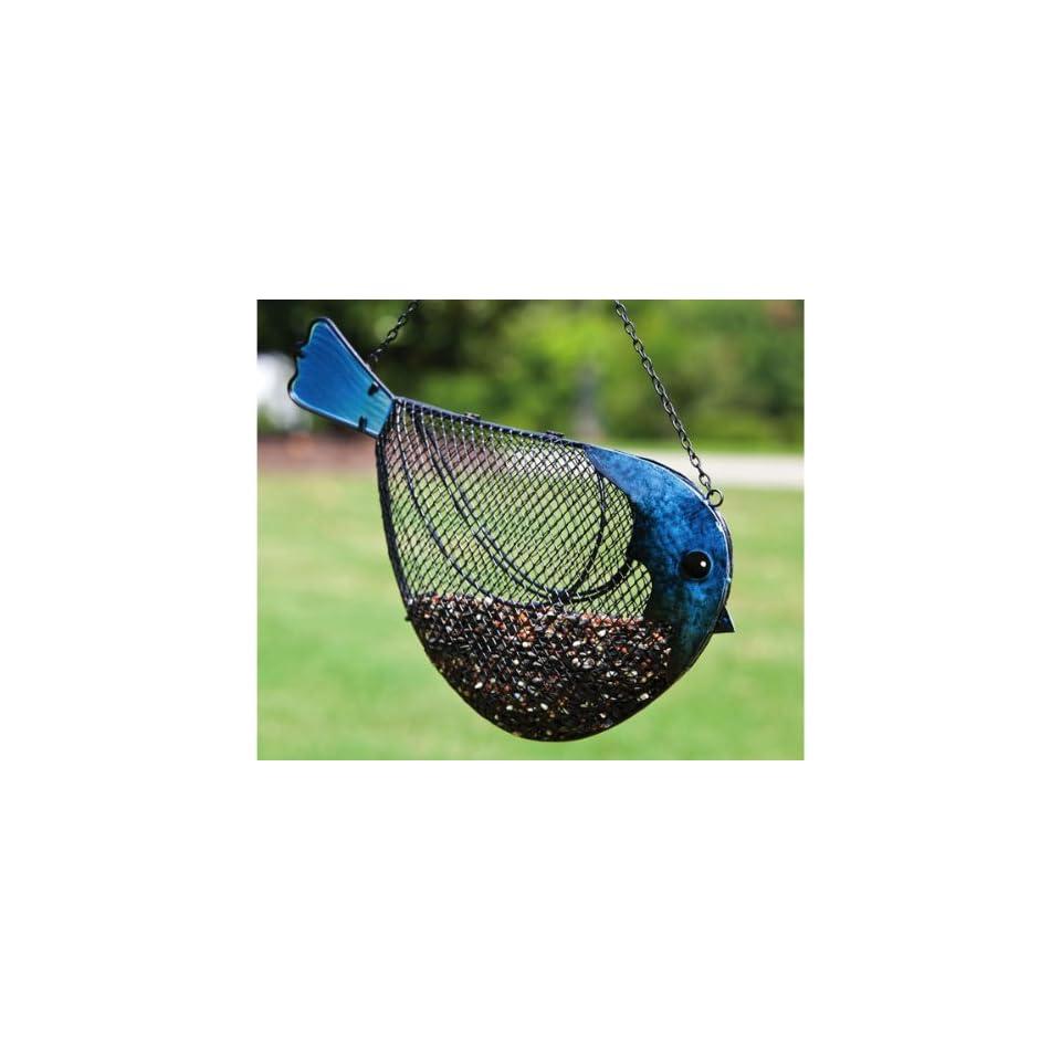 and Glass Bird Feeder   (Bird Feeders) (Seed Feeders)