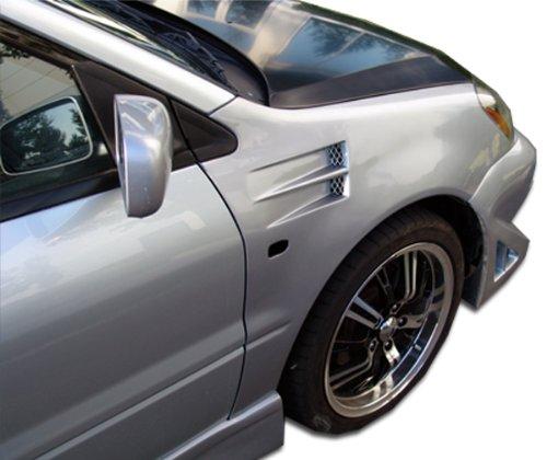 Duraflex X2 Fenders (1993-1997 Honda Del Sol Duraflex X-2 Fenders - 2)
