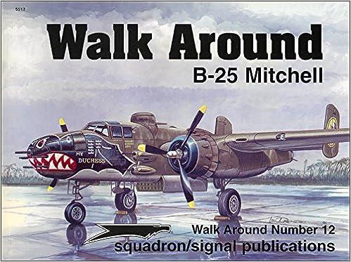 Book B-25 Mitchell - Walk Around No. 12