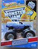 Hot Wheels Monster Jam 2011 Tattoo Series 1:64 Scale (Small Truck) U.S. Air Force Afterburner #8/80 by Mattel