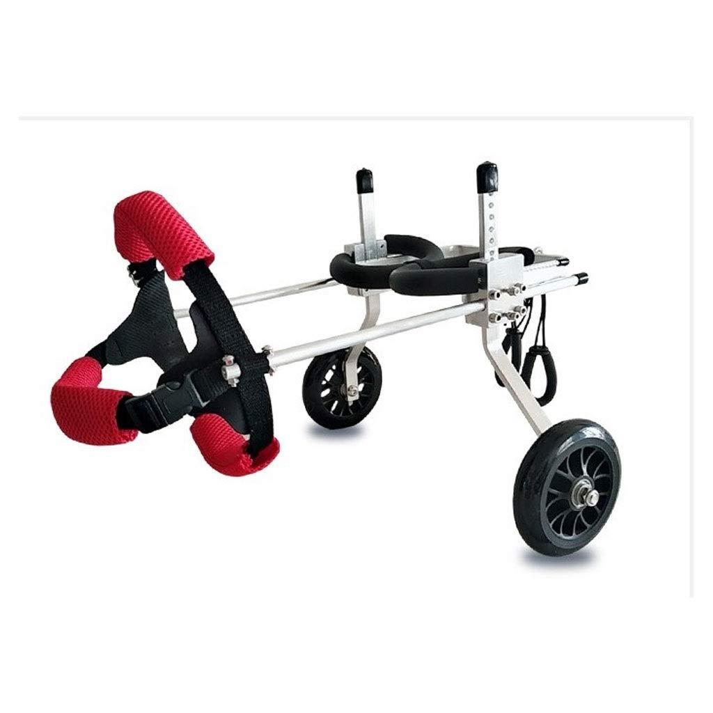 M FFLSDR Pet Wheelchair, Dog Wheelchair, Small Dog Hind Leg Bracket Wheelchair, Disabled Dog Hind Leg Assist (Size   M)