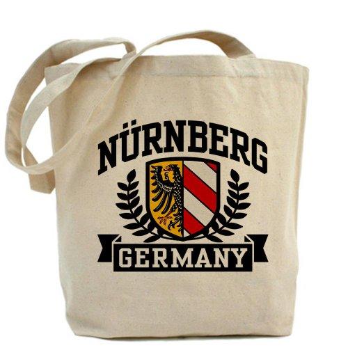 CafePress–Nuremberg Alemania–Gamuza de bolsa de lona bolsa, bolsa de la compra