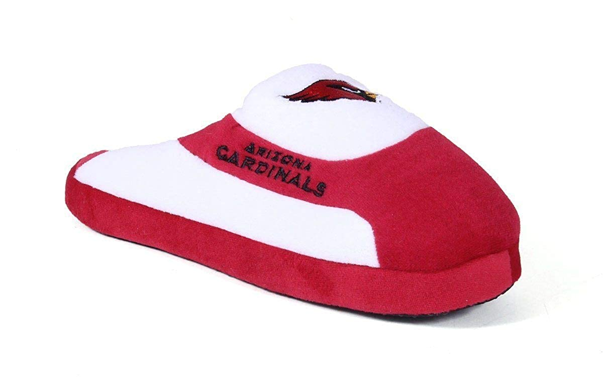 3345f93e57c Amazon.com   Comfy Feet Happy Feet Officially Licensed Mens and Womens NFL  Low Pro Slippers   Slippers