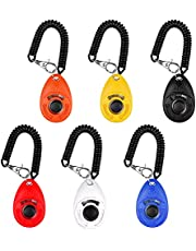 Dog Training Clickers, Clickers for Dog Training with Wrist Strap Big Button Training Clickers for Pet Dog Puppy