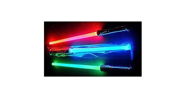 Amazon.com: LED Lightsaber espada cambios 3 colores realista ...