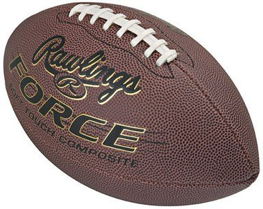 - Rawlings Force Football Official Size Premium Pu Composite Leather