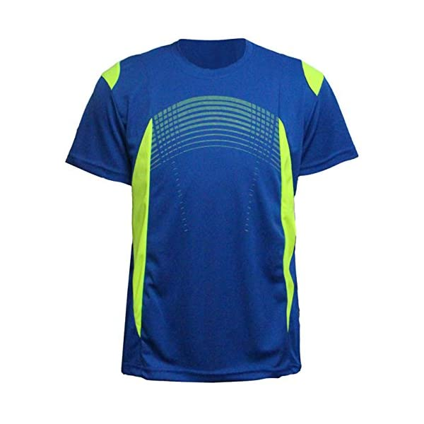 Erin Garments Mens Short Sleeve Performance Shirt Lightweight Athletic Running Sport Dry fit Tee Shirts S-3XL