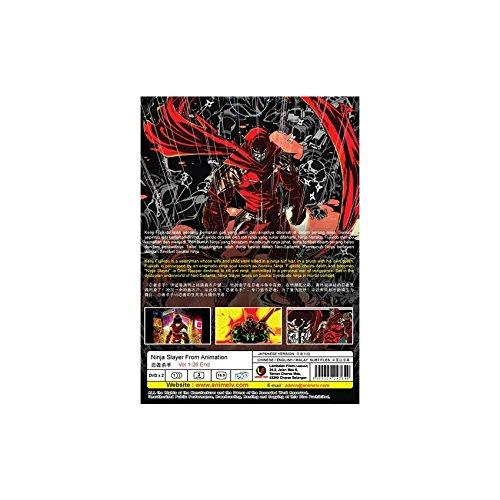 Amazon.com: Ninja Slayer From Animation Vol. 1 - 26 End (DVD ...