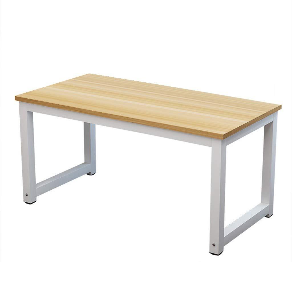 Suesshop Tables, Modern Desk Household Desktop Computer Desk PC Laptop Study Table Office Desk Workstation Desks for Home Office