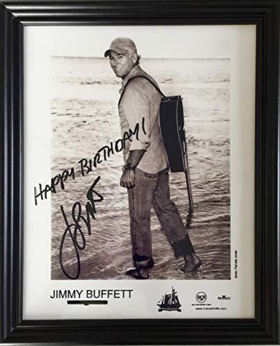 - Framed Happy Birthday Photo from Jimmy Buffett Margaritaville