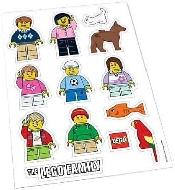 LEGO FAMILY PERSONALISED VINYL DECAL Window Door Wall Laptop Car Vehicle Sticker