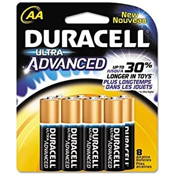 Amazon.com: Duracell Ultra 8Pk Aa Battery Mx1500b8