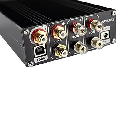 TOPPING TP32EX Tripath TK2050 T-AMP USB DAC Headphone amplifier Black