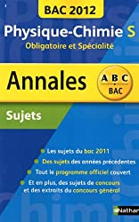 Annales BAC 2012 - Physique-Chimie : Sujets