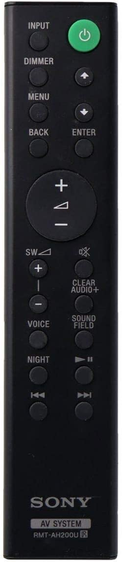 Sony RMT-AH200U for Select Sony Home Audio Systems OEM Remote