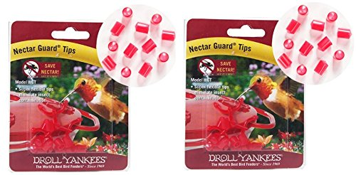 (2 Pack) Droll Yankees NGT Nectar Guard Tips - 12 Tips per Pack by Droll Yankees