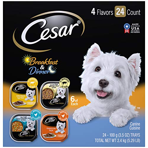 CESAR SAVORY DELIGHTS Variety Pack Rotisserie Chicken Flavor With...