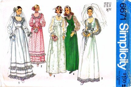 edwardian bridal dress - 5