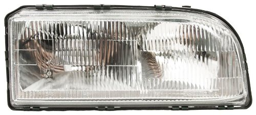 OE Replacement Volvo 850 Passenger Side Headlight Assembly Composite (Partslink Number VO2503101) - Volvo Headlight Lens