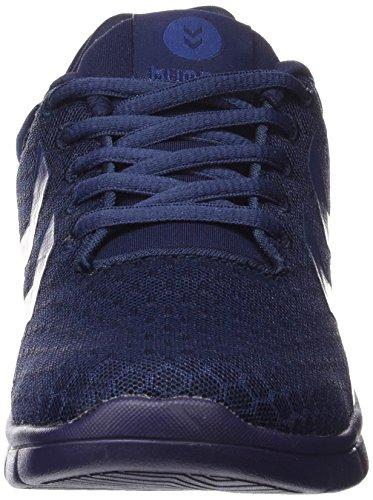 Hummel Effectus Breather - Zapatillas Unisex adulto Blau (Evening Blue 8602)