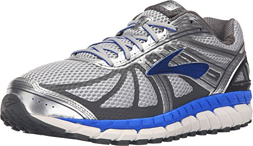 Brooks Men's Beast '16 Silver/Electric Blue/Ebony 14 EE US