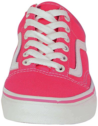 Varebiler Unisex Gamle Skool Lerret Skate Sko-fandango Rosa-8-kvinner / 6,5-menn