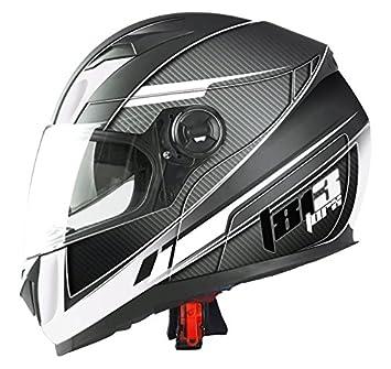 TORX casco Moto Clint 813, Negro, talla XXL