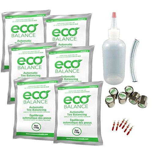 EDIYD-6 ECO Tire Balance Beads - 6oz DIY Dually Kit (36oz) by ECO Balance Beads
