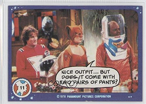 Nice Outfit (Trading Card) 1978 Topps Mork & Mindy - [Base] #11 ()