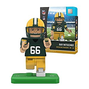 Ray Nitschke Legends NFL OYO Green Bay Packers Home Generation 4 G4 Mini Figure