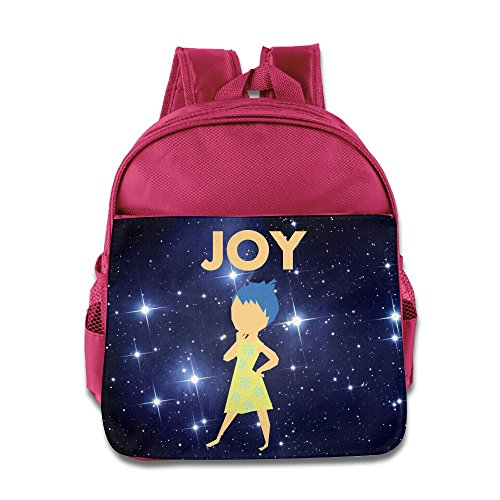 Inside Out Five Emotions Joy Kids' School Backpack For 1-6 Years Old