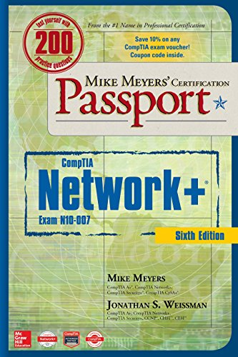 New used books for lan mike meyers comptia network certification passport sixth edition exam n10 007 6th 2018 fandeluxe Gallery
