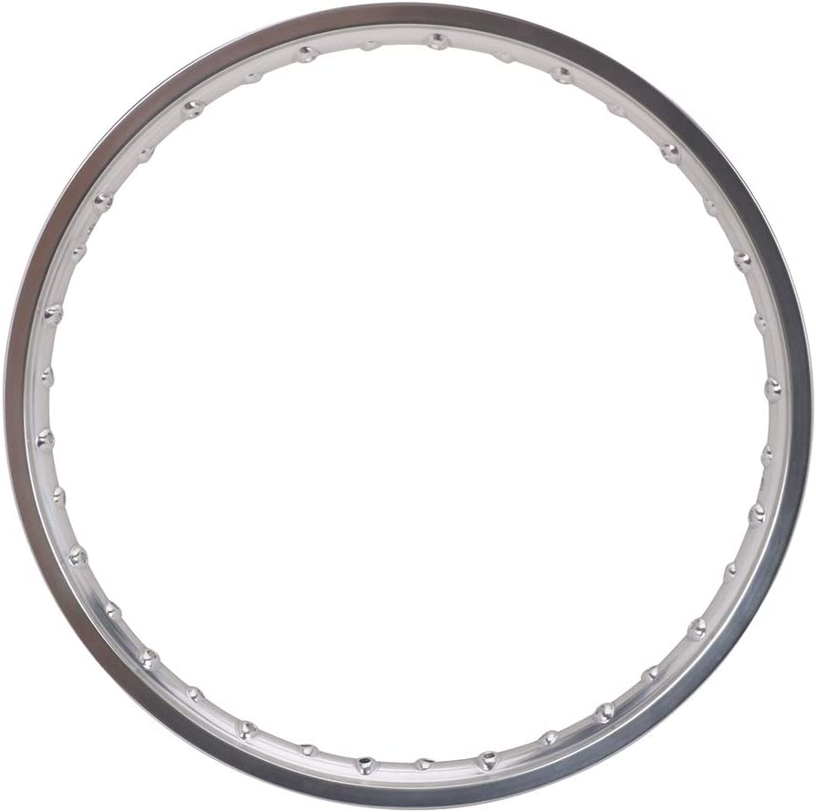 Silver 1.6 x 21 Front Rim 36 Hole Motorcycle