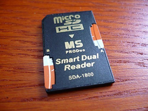 256GB (128GB x 2) Memory Stick PRO DUO TF 256 GB for PSP 3000 SONY by MemoryPack