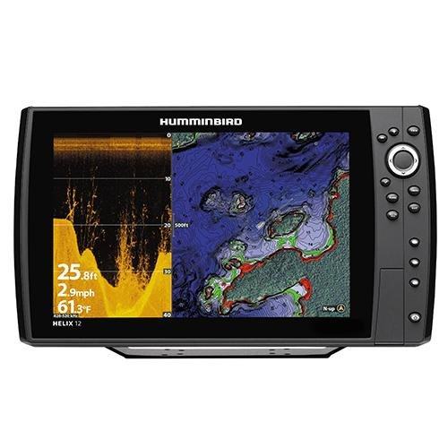 Humminbird 410370-1 Helix 12 CHIRP Di GPS G2N Fishing Charts & Maps