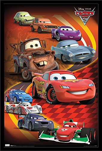 Trends International Cars 2 - Group Wall Poster 24.25